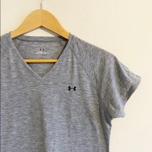 Under Armour grey athletic t-shirt!